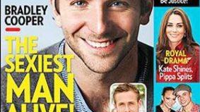 "The People magazine ""Sexiest Man"" saga: wherein Bradley Cooper is self-deprecating"