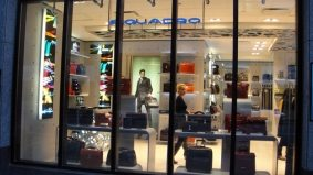 Introducing: Piquadro, a Toronto outpost of the internationally known Italian leather goods shop in the heart of Yorkville