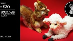 Holiday Gift Guide 2011: the most adorable plush animals (seriously, they are)