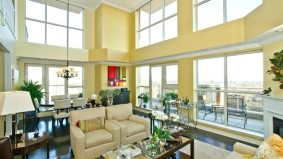 Condomonium: $899,900 for a three-bedroom penthouse suite overlooking the Oakville lakeshore
