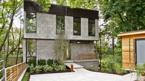 House of the Week: $2.9 million for a house built in a ravine in Lawrence Park South