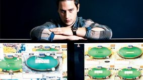 A member of the notorious new breed of young poker pros who are winning—and losing—millions
