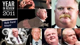 Year in Review: our 10 favourite Rob Ford storylines of 2011