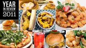 Year in Review: each of 2011's weekly lunch picks, ranked