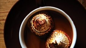 Must-Try: hot chocolate with sinfully good blowtorched marshmallows at Bobbette and Belle