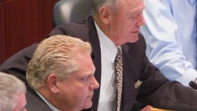 Doug Holyday balks at EMS demands, going out of his way to look stubborn