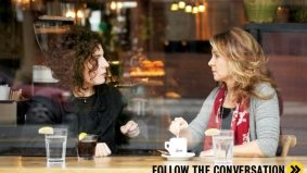 The Conversation: Arsinée Khanjian and Megan Follows on collaborating with loved ones