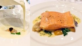 Weekly Lunch Pick: the sustainable trout at Pangaea