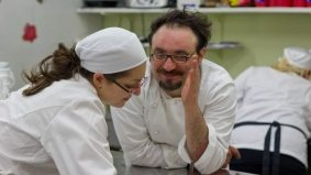 This is what happens when 12 culinary students get to cook with Paolo Lopriore, the world's 39th best chef