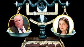 Rosie DiManno writes a really weird column begrudging Rob Ford's weight loss