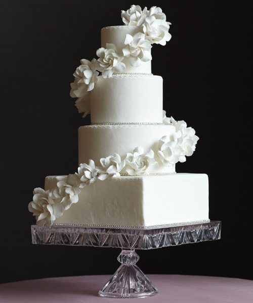 Elegant Wedding Cake Wedding Cakes With Fresh Flowers Pinterest
