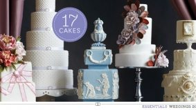 Weddings 2012: 17 of the city's most deliciously show-stopping wedding cakes