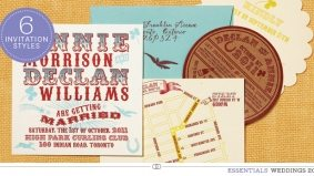 Weddings 2012: six locally designed invites that set the tone for that special day