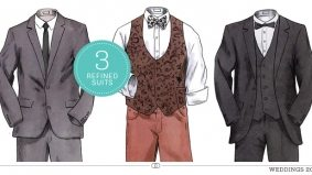 Weddings 2012: three refined suits that look great next to white
