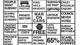 B-I-N-G-O! Seriously, check out this awesome Transit City bingo card