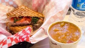 Weekly Lunch Pick: The soup and grilled cheese combo at Cool Hand Luc