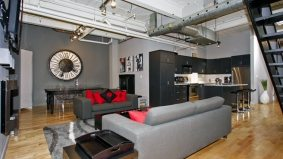 Condomonium: $600,000 for a two-level condo where you can party like a rockstar all night long
