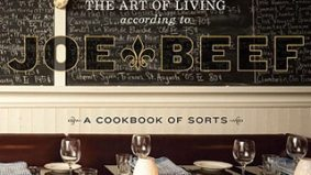 Montreal's Joe Beef takes first place in the annual Piglet Tournament of Cookbooks