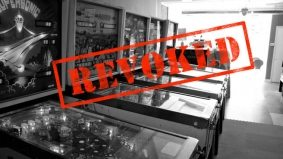 The red-tape brigade comes to The Pinball Café—but the owners are appealing