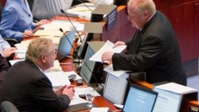 "Millionaires Doug and Rob Ford are ""dead against"" city councillors getting any kind of pay increase"