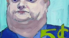 Got $5,555.55 burning a hole in your pocket? This portrait of Rob Ford could be yours