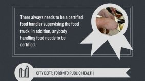 Looking to set up a food truck in Toronto? Check out this giant infographic