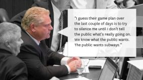 QUOTED: Doug Ford ignores Nick Kouvalis's advice and bad-mouths more councillors