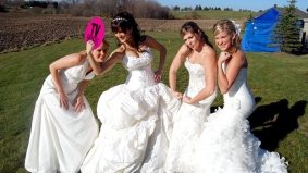Four Weddings Canada, episode 9: it's a nice day for a tacky $100,000 wedding