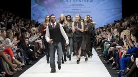 Holt Renfrew makes a splash with all-Canadian lineup on opening night of Toronto Fashion Week