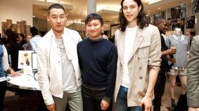 Tommy Ton launches his Club Monaco collaboration in New York with Nick Wooster, Mickey Boardman and more