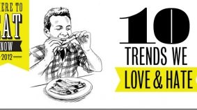 Where to Eat Now 2012: 10 trends in dining that we love and hate (or have a love-hate relationship with)