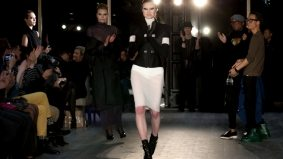 Sarah Gadon and vodka make an appearance at Greta Constantine's fall/winter 2012 show