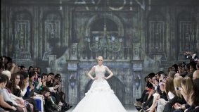 """Pavoni brings """"couture"""" glamour and old Hollywood fierceness to Toronto Fashion Week"""