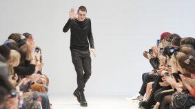 Sid Neigum dresses Tara Gill for his fall/winter 2012 show at Toronto Fashion Week