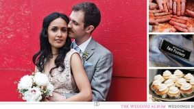 The Wedding Album: Saira & Ian's musical affair at the Berkeley Field House