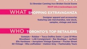 Select independent Toronto retailers band together for The Bazaar (not a reality TV show, but a market)