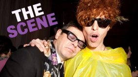 The Scene: W. Bruce C. Bailey shows us he's fun at parties (and much, much more!)