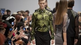 Caitlin Power shows she understands trends at Toronto Fashion Week fall/winter 2012