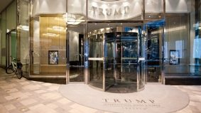 The swanky new Trump Tower is already falling apart
