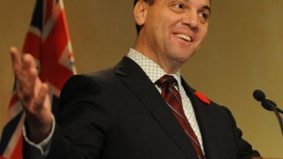 Tim Hudak pretends that silly Sheppard council meeting never happened