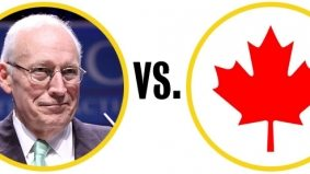 Former U.S. vice-prez Dick Cheney is scared to come to Canada
