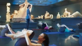 Reason to Love Toronto: yoga classes at the Art Gallery of Ontario