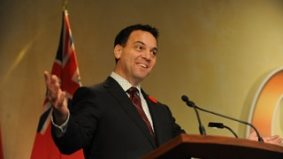 Tim Hudak's transit grandstanding was a political move—but not a good one