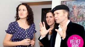 Patrons fight over signed Warhol painting at Figuration exhibit opening at Berenson gallery