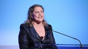 Listen to Kathleen Turner's husky voice on five separate occasions