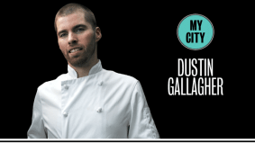 Dustin Gallagher, of Top Chef Canada fame, on funny sushi masters and divine French toast