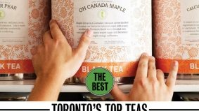Seven of Toronto's top tea blends, from fermented Yellow Dragon to Oh Canada Maple