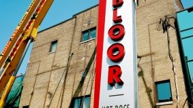 See the new Bloor Hot Docs Cinema marquee go up