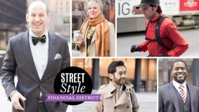 Street Style: 21 spring looks from the men and women of the Financial District