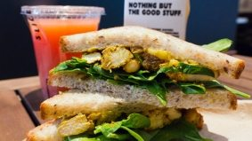 Weekly Lunch Pick: the Brick Lane chicken sandwich at Sliced